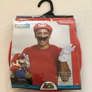 Disguise Mario Accessory Costume Men